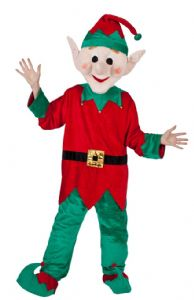 Elf Santa's Helper Mascot Costume (MA8565)